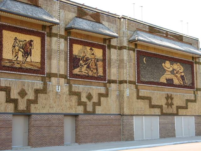 Side of the Corn Palace