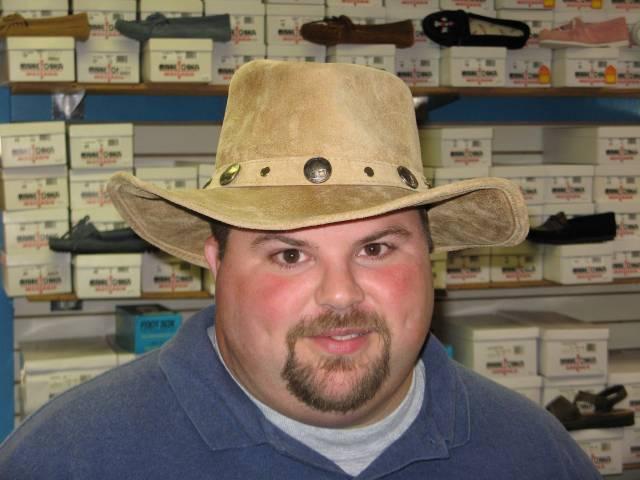Gus in hat