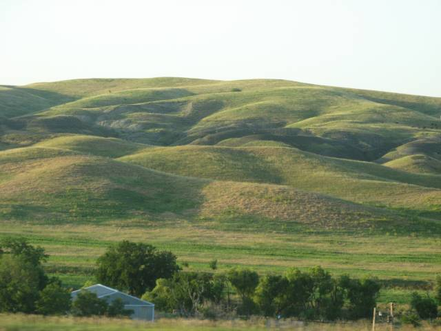 Low South Dakota hills