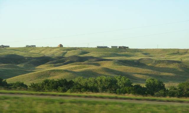Low South Dakota hills