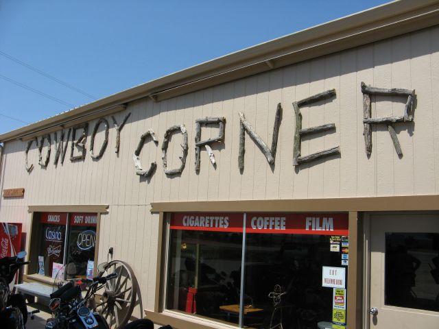 Cowboy Corner gas station