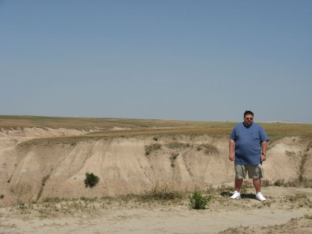 Gus in the Badlands