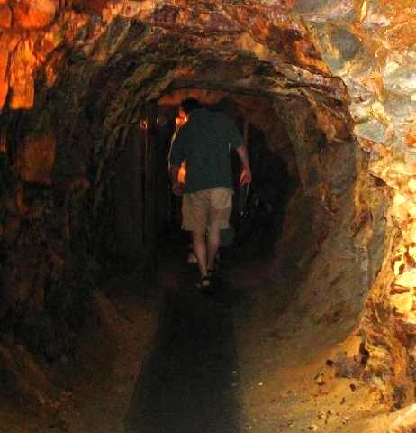 Scott in gold mine