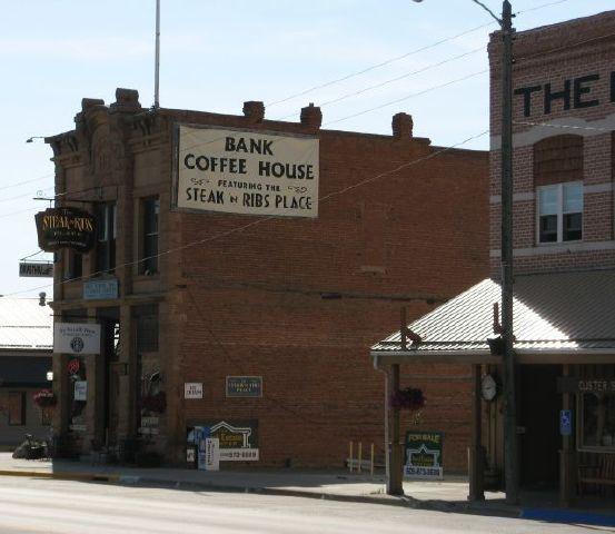 Bank Coffee in Custer