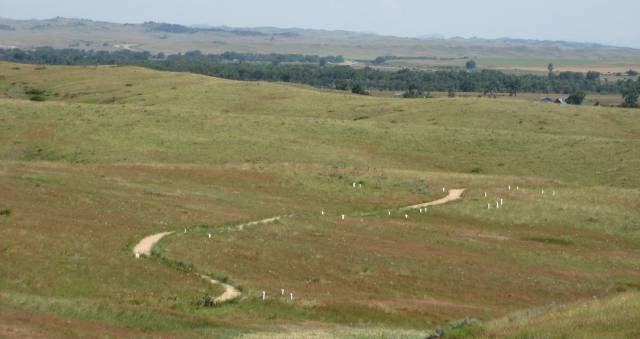 Deep Revine at Little Bighorn Battlefield