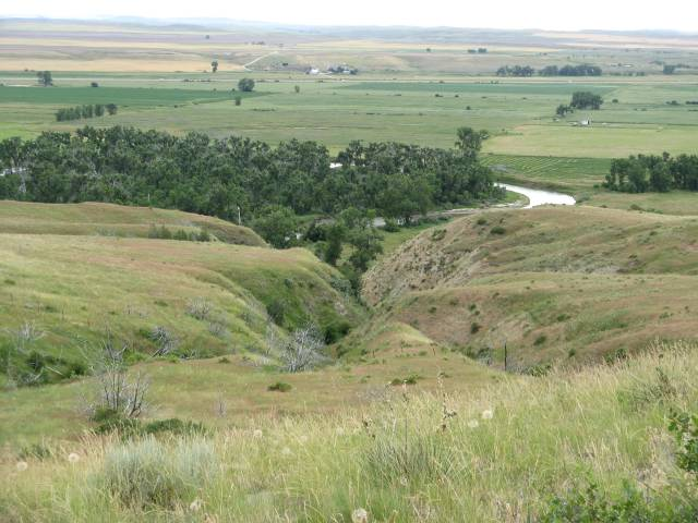 Little Bighorn Battlefield water revine
