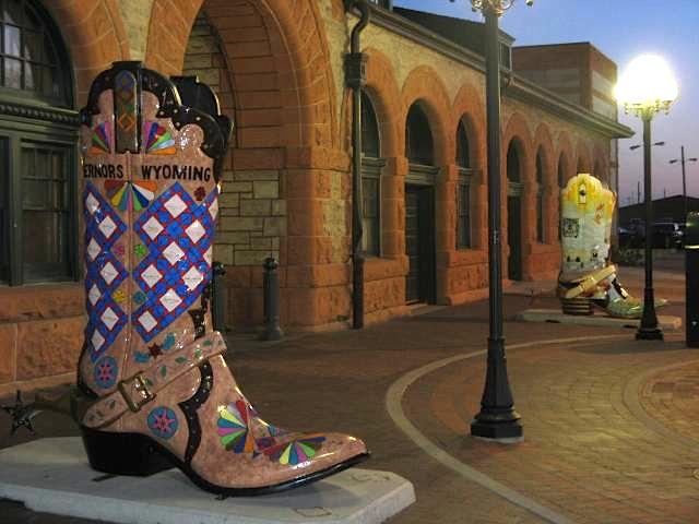 Cowboy boot, Cheyenne, WY